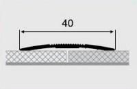 Порожки алюминиевые 1-А с открытым монтажем