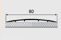 Порожки алюминиевые 11-А с открытым монтажем