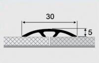Порожки алюминиевые 6-А со скрытым монтажем