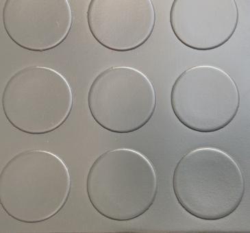 Автолинолеум кружок серый 1,8м (Турция)