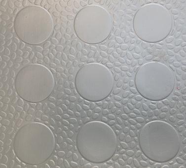 Автолинолеум мелкий кружек серый 1,8м (Турция)