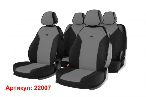 Накидки на передние и задние сиденья автомобиля Carfashion модель Bingo Plus (22007)