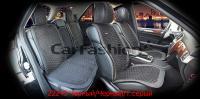 Накидки на передние и задние сиденья автомобиля Carfashion модель Capri Plus (22243)