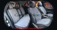 Накидки на передние и задние сиденья автомобиля Carfashion модель Capri Plus (22249)