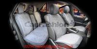 Накидки на передние и задние сиденья автомобиля Carfashion модель Capri Plus (22254)