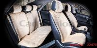 Накидки на передние и задние сиденья автомобиля Carfashion модель City Plus (22470)