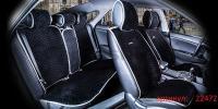 Накидки на передние и задние сиденья автомобиля Carfashion модель City Plus (22472)