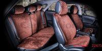 Накидки на передние и задние сиденья автомобиля Carfashion модель City Plus (22475)