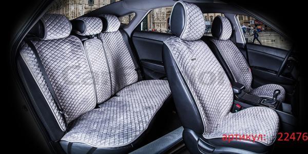 Накидки на передние и задние сиденья автомобиля Carfashion модель City Plus (22476)