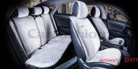 Накидки на передние и задние сиденья автомобиля Carfashion модель City Plus (22477)
