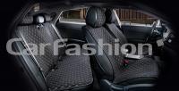 Накидки на передние и задние сиденья автомобиля Carfashion модель Crown (22622)