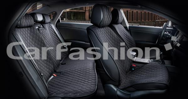 Накидки на передние и задние сиденья автомобиля Carfashion модель Crown (22623)