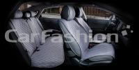 Накидки на передние и задние сиденья автомобиля Carfashion модель Crown (22628)