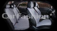 Накидки на передние и задние сиденья автомобиля Carfashion модель Crown (22629)