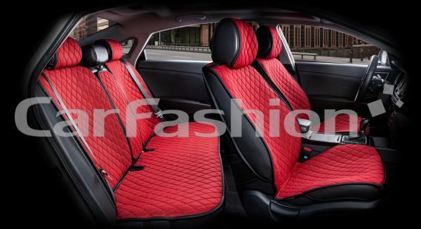 Накидки на передние и задние сиденья автомобиля Carfashion модель Crown (22630)