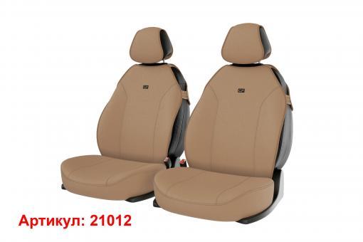 Накидки на передние сиденья автомобиля Carfashion модель Bingo Front (21012)