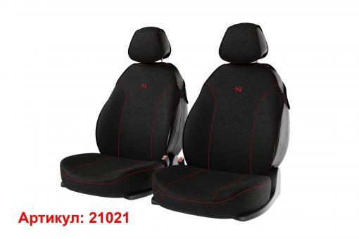 Накидки на передние сиденья автомобиля Carfashion модель Bingo Front (21021)