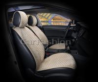 Накидки на передние сиденья автомобиля Carfashion модель Capri PRO (21006)