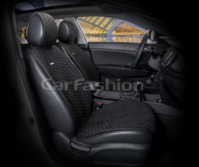 Накидки на передние сиденья автомобиля Carfashion модель Capri PRO (21007)