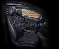 Накидки на передние сиденья автомобиля Carfashion модель Capri PRO (21008)