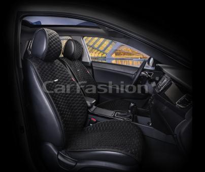 Накидки на передние сиденья автомобиля Carfashion модель Capri PRO (21009)