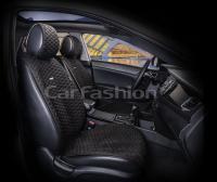 Накидки на передние сиденья автомобиля Carfashion модель Capri PRO (21024)