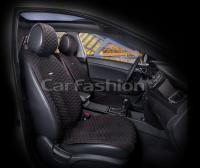 Накидки на передние сиденья автомобиля Carfashion модель Capri PRO (21025)