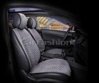 Накидки на передние сиденья автомобиля Carfashion модель Capri PRO (21028)