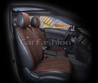 Накидки на передние сиденья автомобиля Carfashion модель Capri PRO (21048)