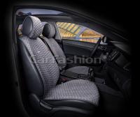 Накидки на передние сиденья автомобиля Carfashion модель Capri PRO (21049)