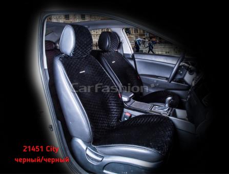 Накидки на передние сиденья автомобиля Carfashion модель City Front (21451)