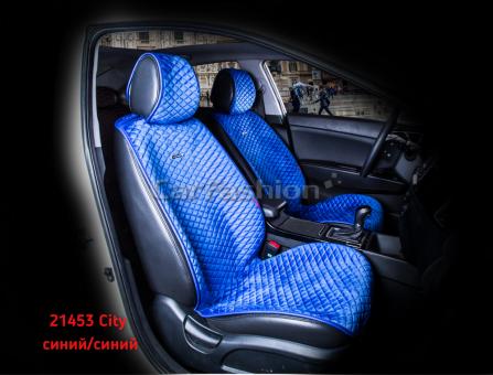 Накидки на передние сиденья автомобиля Carfashion модель City Front (21453)