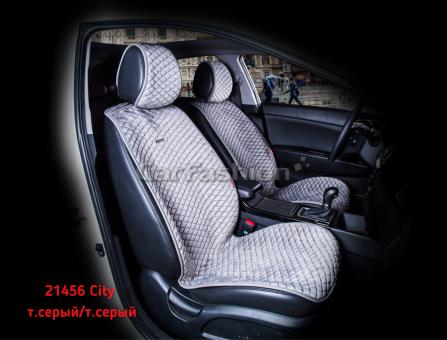 Накидки на передние сиденья автомобиля Carfashion модель City Front (21456)