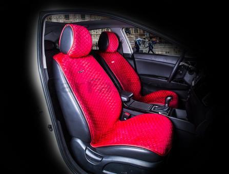 Накидки на передние сиденья автомобиля Carfashion модель City Front (21458)