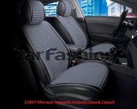 Накидки на передние сиденья автомобиля Carfashion модель Monaco Front (21837)