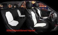 Универсальные 3D авточехлы на передние и задние сиденья Carfashion модель Samurai Plus (22344)