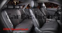 Универсальные 3D авточехлы на передние и задние сиденья Carfashion модель Sting Plus (22354)