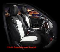 Универсальные 3D авточехлы на передние сиденья Carfashion модель Samurai Front (21944)