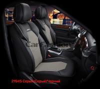 Универсальные 3D авточехлы на передние сиденья Carfashion модель Samurai Front (21945)