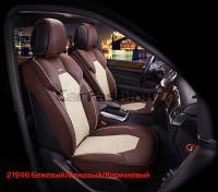 Универсальные 3D авточехлы на передние сиденья Carfashion модель Samurai Front (21946)