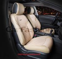 Универсальные 3D авточехлы на передние сиденья Carfashion модель Sting Front (21950)