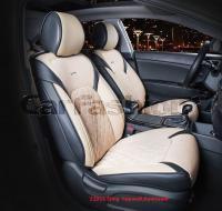 Универсальные 3D авточехлы на передние сиденья Carfashion модель Sting Front (21953)