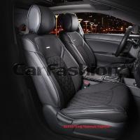 Универсальные 3D авточехлы на передние сиденья Carfashion модель Sting Front (21954)