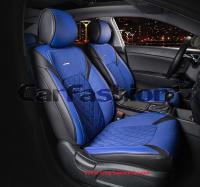 Универсальные 3D авточехлы на передние сиденья Carfashion модель Sting Front (21955)