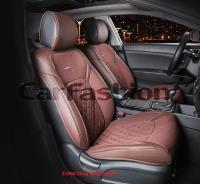 Универсальные 3D авточехлы на передние сиденья Carfashion модель Sting Front (21960)