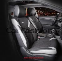 Универсальные 3D авточехлы на передние сиденья Carfashion модель Sting Front (21961)