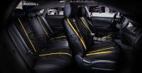Универсальные 5D авточехлы на передние и задние сиденья Carfashion модель Start Plus (22296)