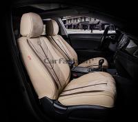 Универсальные 5D авточехлы на передние сиденья Carfashion модель Start Front (21063)
