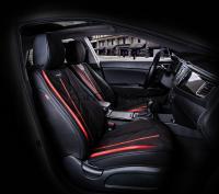 Универсальные 5D авточехлы на передние сиденья Carfashion модель Start Front (21069)
