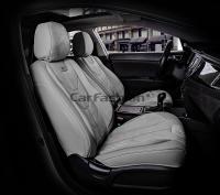 Универсальные 5D авточехлы на передние сиденья Carfashion модель Start Front (21073)